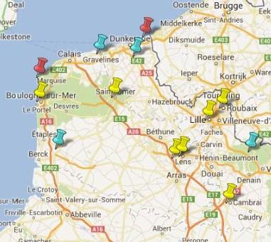 Villes et Villages Classés du Nord Pas de Calais