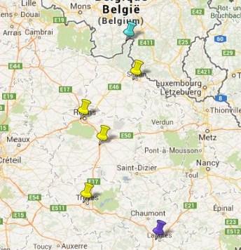 Villes et Villages Classés Champagne Ardenne