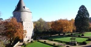 Château de Josselin jardin