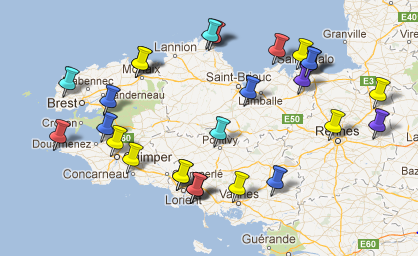 Villes et Villages Classés Bretagne