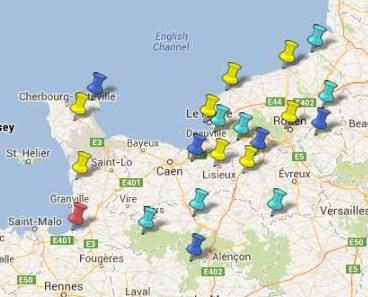 Villes Et Villages Classes En Normandie