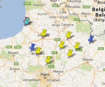 Villes et Villages Classés en Picardie