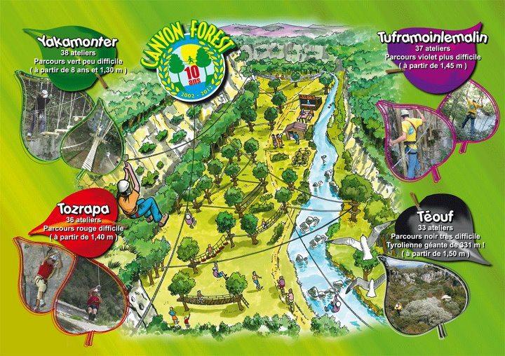 Canyon Forest Villeneuve Loubet