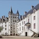 Cour intérieure du château des ducs de Bretagne (Nantes)