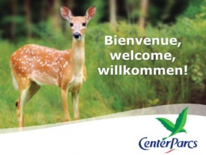 Bienvenue Center Parc