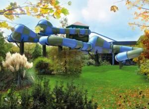 Center parc des Hauts de Bruyères toboggan Topsy Turvy 300x219 Center Parcs les Hauts de Bruyères en Sologne