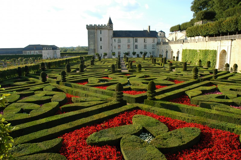 Jardins de villandry for Jardin xviiie siecle