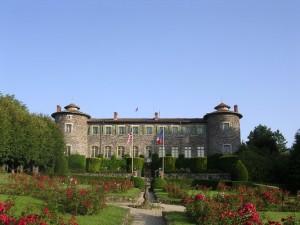 Parc du chateau de Chavaniac Lafayette