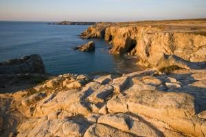 Bretagne Morbihan Saint-Pierre-Quiberon au coucher de soleil