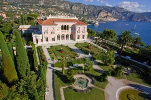 Villa et Jardins Ephrussi de Rothschild Facade Sud