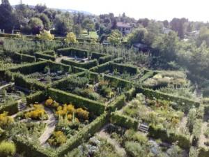 Jardin du Chateau de St Bernard