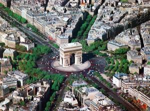 Arc de Triomphe place de l'étoile