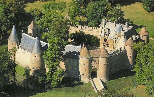 Château et Jardin d'Ainay-le-Vieil