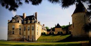 Le Chateau d'Apremont sur Allier