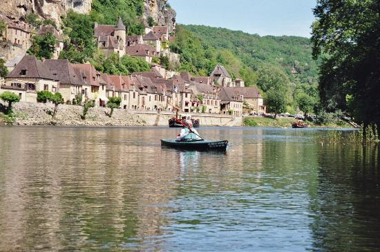 La Roque Gageac Plus beau village de France Dordogne (24)